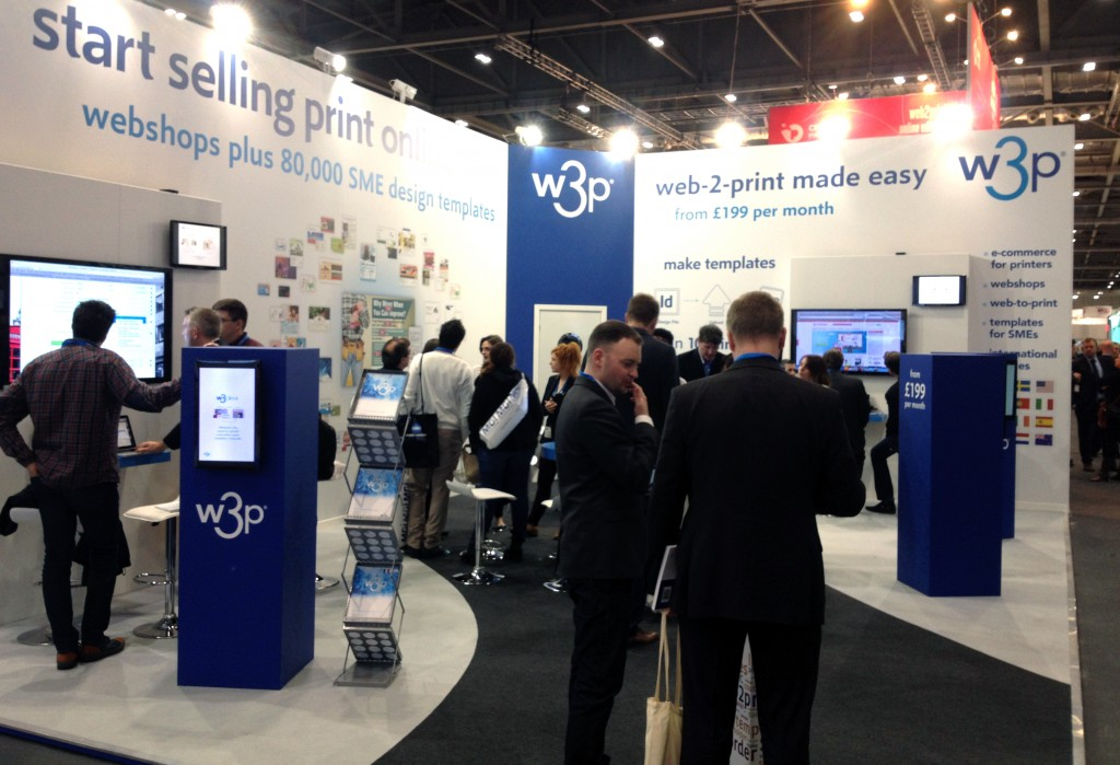 W3P exhibition stand at Ipex